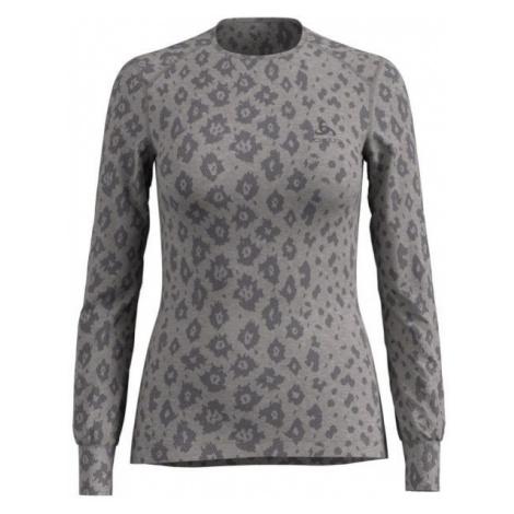 Odlo SHIRT L/S X-MAS ACTIVE LADIES WARM gray - Women's T-shirt