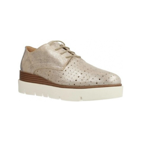 Geox DONNA KATTILOU women's Casual Shoes in Gold