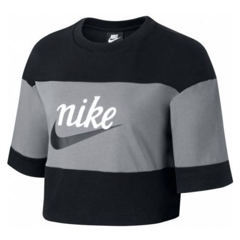 Nike NSW VRSTY TOP SS W gray - Women's T-shirt