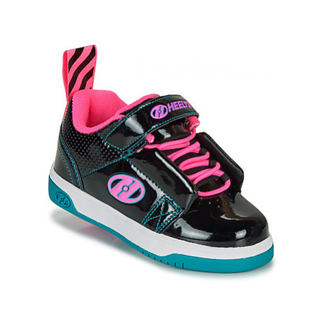 Heelys RIFT X2 girls's Children's Roller shoes in Black