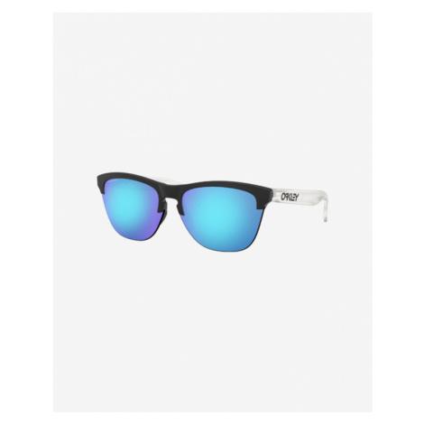 Oakley Frogskins Lite Sunglasses Black Blue White