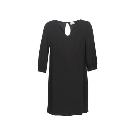 Vila VISIGGA women's Dress in Black