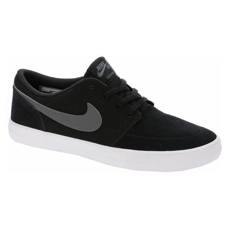 shoes Nike SB Portmore II Solar - Black/Dark Gray/White