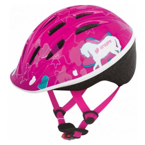 Arcore VENTO pink - Kid's helmet