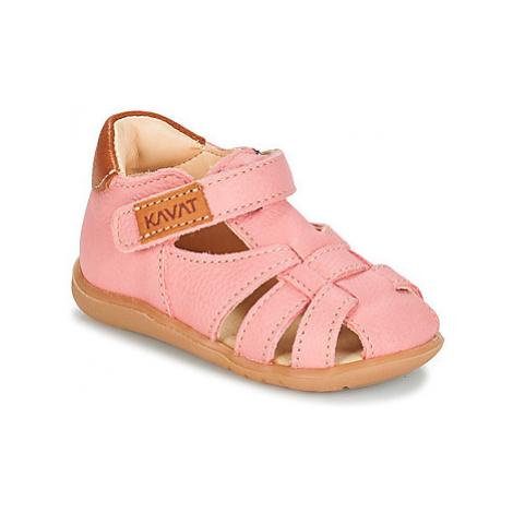Kavat RULLSAND girls's Children's Sandals in Pink