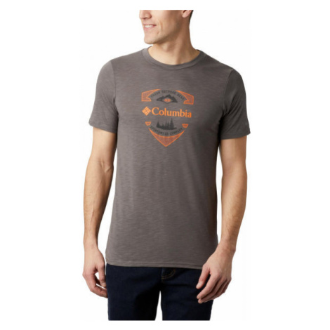 Columbia NELSON POINT GRAPHIC SHORT SLEEVE TEE gray - Men's T-shirt