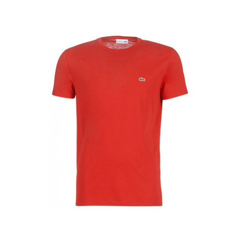 Lacoste TH6709 men's T shirt in Red