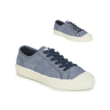 Pepe jeans ING LOW women's Shoes (Trainers) in Blue