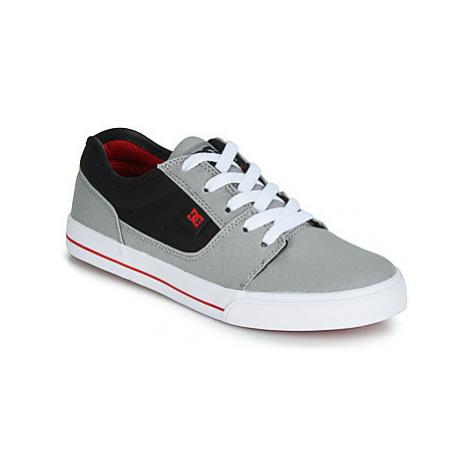 DC Shoes TONIK TX B SHOE XSKR boys's Children's Shoes (Trainers) in Grey