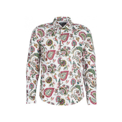 Desigual AXEL men's Long sleeved Shirt in White