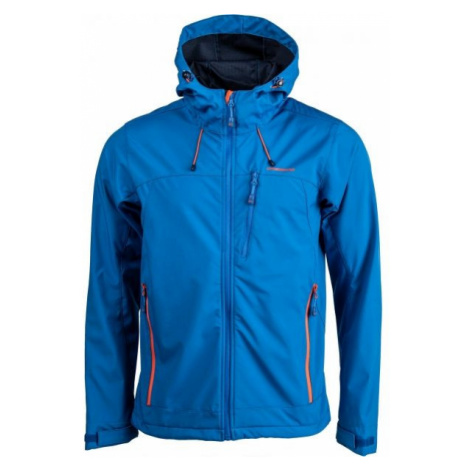 Crossroad OLIN blue - Men's softshell jacket