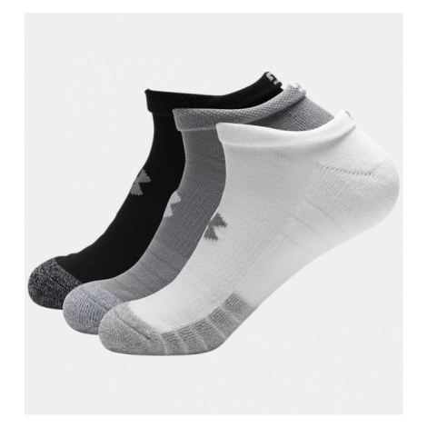 Adult HeatGear No Show Socks 3-Pack Under Armour