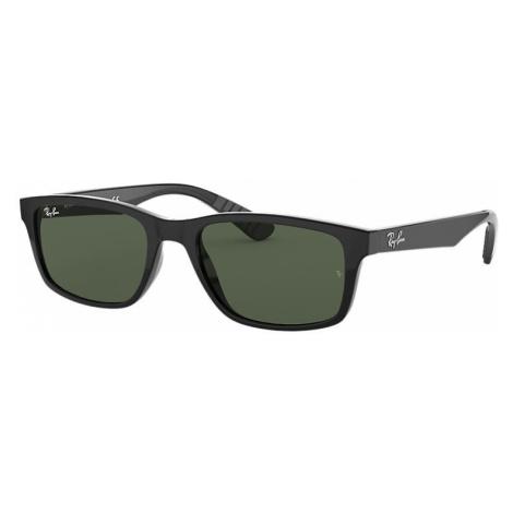 Ray-Ban Rb4234 Man Sunglasses Lenses: Green, Frame: Black - RB4234 601/71 58-16
