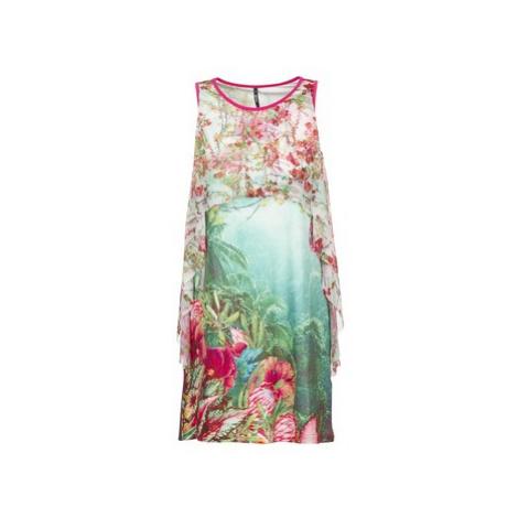 Green sleeveless dresses