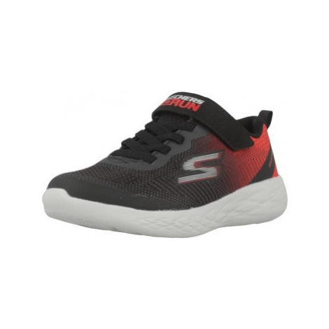 Skechers GO RUN 600 boys's Children's Shoes (Trainers) in Black