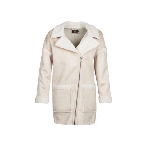 Only ONLFELICITY women's Coat in Beige