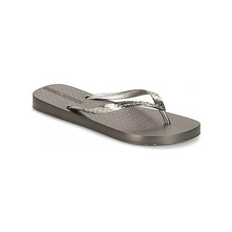 Ipanema GLAM women's Flip flops / Sandals (Shoes) in Silver