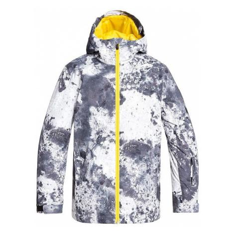 jacket Quiksilver Mission Printed - KPV7/Castle Rock Splash - boy´s