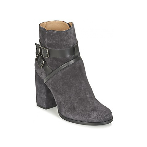 Castaner CARLA women's Low Ankle Boots in Grey Castañer