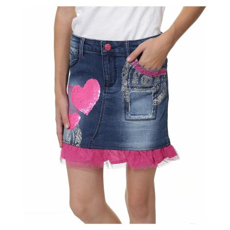 skirt Desigual 67F31B3/Gargalla - 5006/Jeans