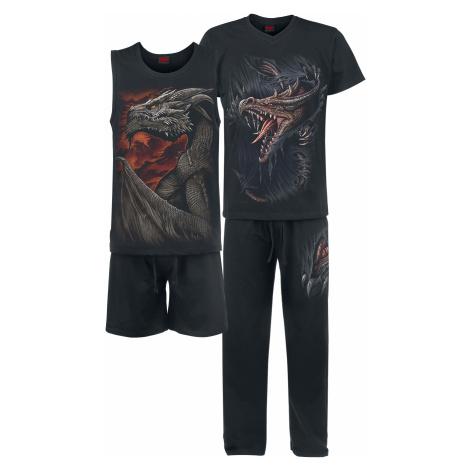 Spiral - Breaking Out - Pyjamas - black