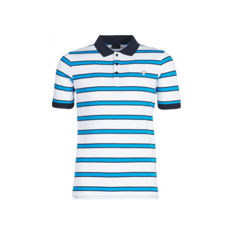 Guess RAY men's Polo shirt in White