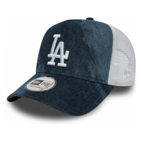 New Era 9Forty Womens A Frame Tie Dye Trucker LA Dodgers Navy