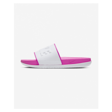 Nike Offcourt Icon Clash Slippers Pink White