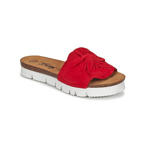 Betty London IPAPI women's Mules / Casual Shoes in Red