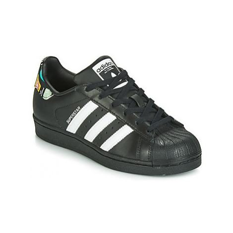 Adidas SUPERSTAR J girls's Children's Shoes (Trainers) in Black
