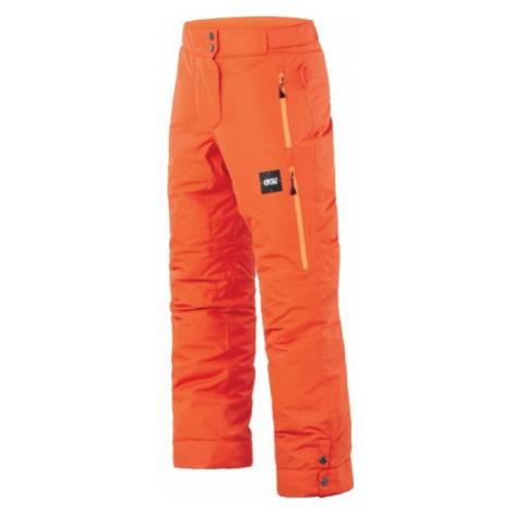 Picture MIST orange - Children's winter trousers