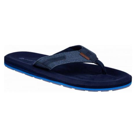 ALPINE PRO ULKER black - Men's flip-flops