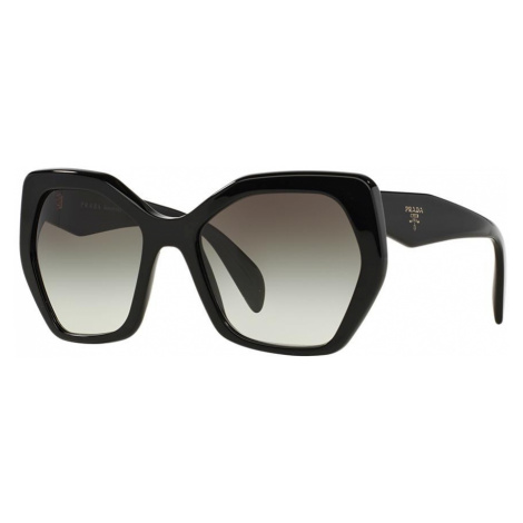 Prada Woman PR 16RS - Frame color: Black, Lens color: Grey-Black, Size 56-19/135
