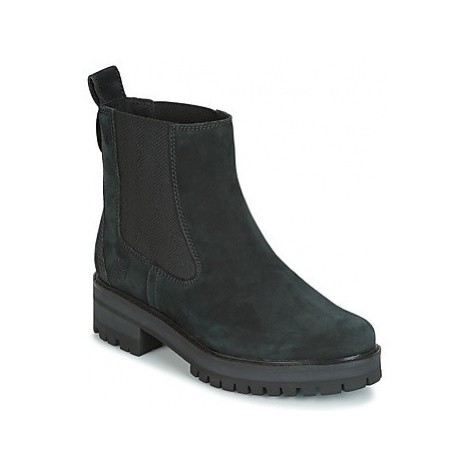 Timberland COURMAYER VALLEY CHELSEA women's Mid Boots in Black