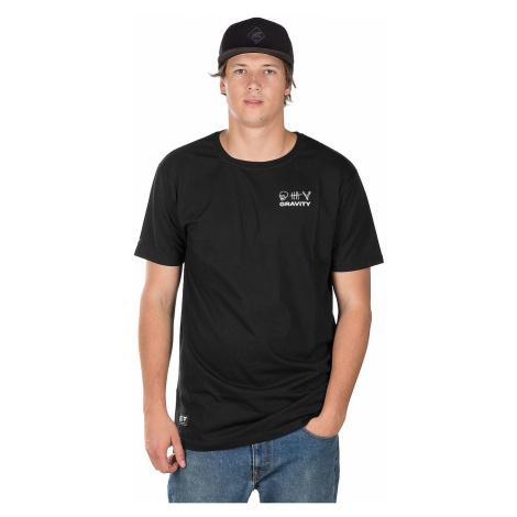 T-Shirt Gravity Contra - Black - men´s