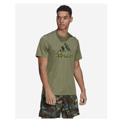 adidas Performance Designed 2 Move Camouflage T-shirt Green