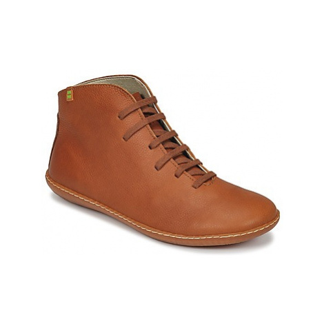 El Naturalista EL VIAJERO women's Mid Boots in Brown