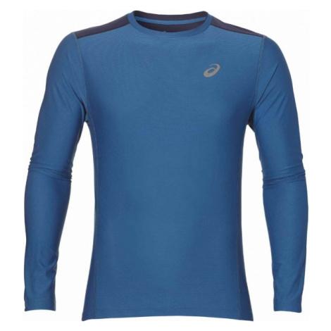 Asics LS TOP M dark blue - Men's sports T-shirt