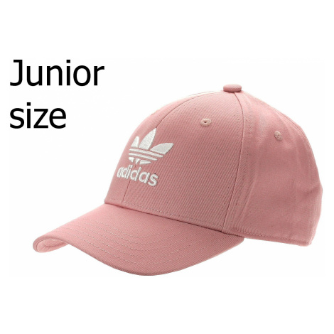 cap adidas Originals Baseball Classic Trefoil - Pink Spirit/White - unisex junior