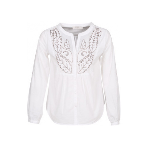 Cream JOLINA women's Blouse in White