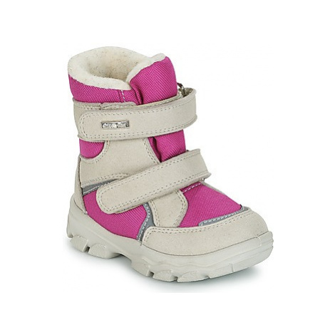 Chicco WHIM girls's Children's Snow boots in Beige