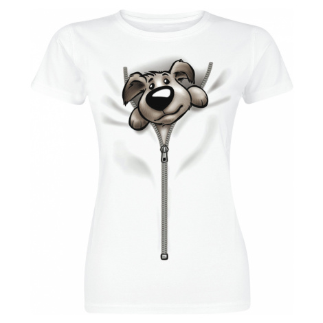 Puppy - - Girls shirt - white