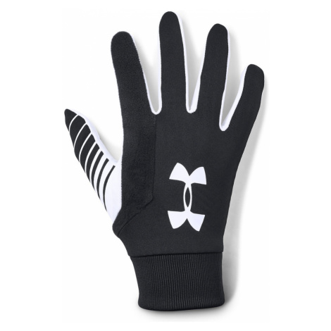 Under Armour Field Player's Gloves Black White
