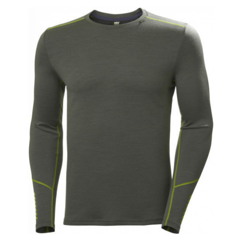 Helly Hansen LIFA MERINO MIDWEIGHT CREW green - Men's highly functional base layer