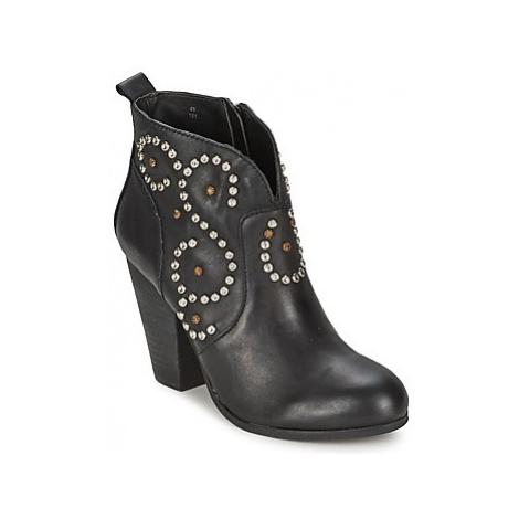 Steve Madden SIOUTI women's Low Ankle Boots in Black