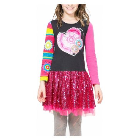 dress Desigual 67V32C5/Monrovia - 2054/Grafito