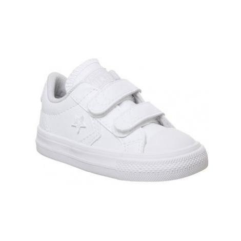 Converse Star Player Infant WHITE WHITE WHITE