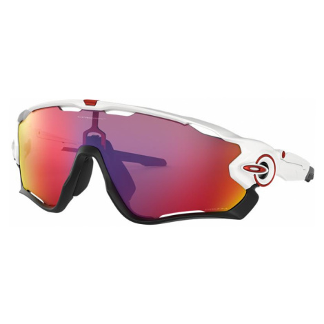 Oakley Man OO9290 Jawbreaker® - Frame color: White, Lens color: Red, Size 01-31/121