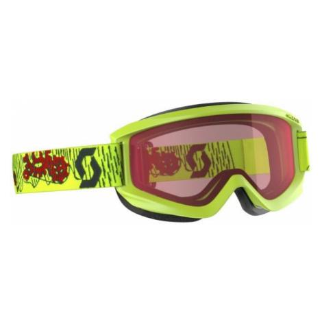 Scott AGENT JR yellow - Kids' ski goggles