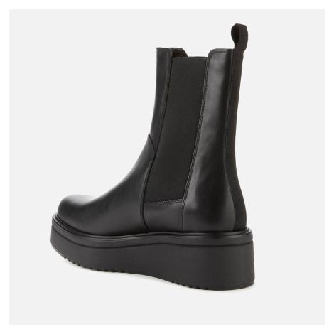Vagabond Women's Tara Leather Chunky Chelsea Boots - Black - UK